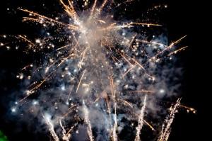 Lord Mayors firework show London