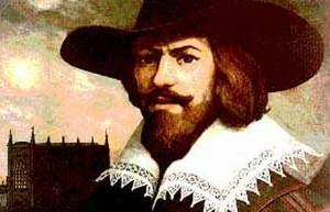 Guy Fawkes portrait