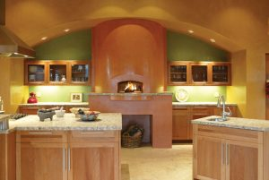 Residential pizza oven