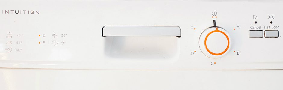 Dishwasher dashboard