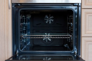 Opened Oven