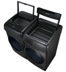 Samsung flexwash washing machine