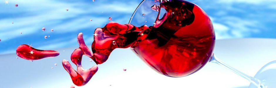 Wine spilling