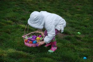 Easter egg hunt London