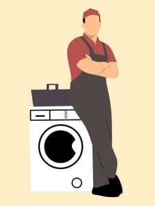 repairs specialist and washing machine
