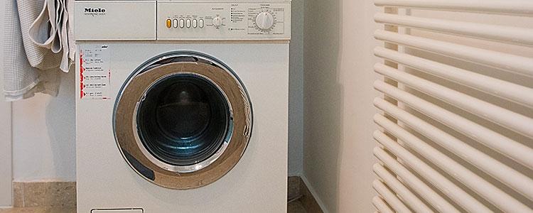Disconnected Washing Machine