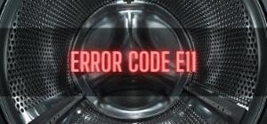 Beko Washer Error Code E11