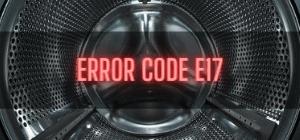Beko Washer Error Code E17