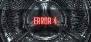 Bush Washer Error 4