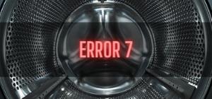 Bush Washer Error 7